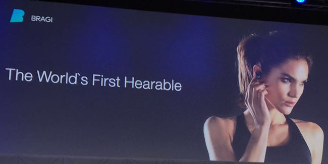 The world's first hearable