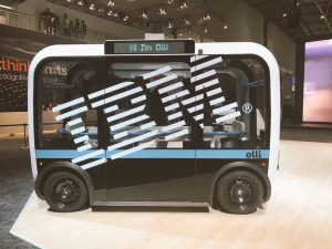 Accessible Olli - cognitive vehicle