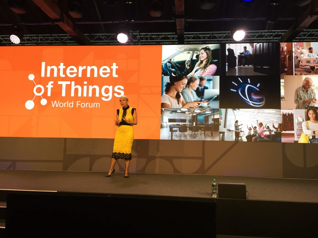 Harriet Green says all industries are impacted by IoT