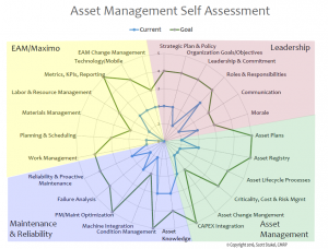 Figure 1: Asset management self-assessment