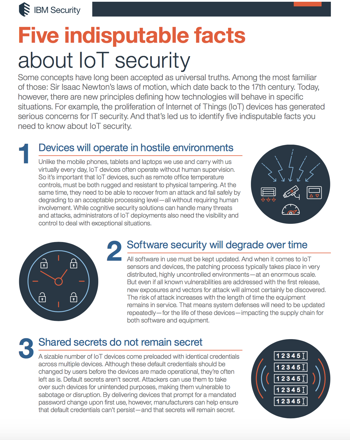 Learn more about the security trend in this handy inforgraphic: Five indisputable facts about IoT security