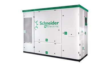 A cloud-connected, utility-grade Conext SmartGen solar inverter from Schneider Electric