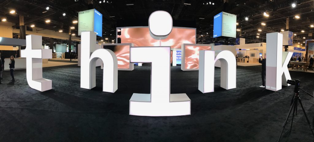 Welcome to Day 2 of Think 2018