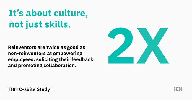 It's about culture, not just about skills