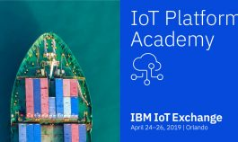 Learn how to make the most of your data at the IoT Platform Academy, part of the IBM IoT Exchange, a must-attend IoT event.