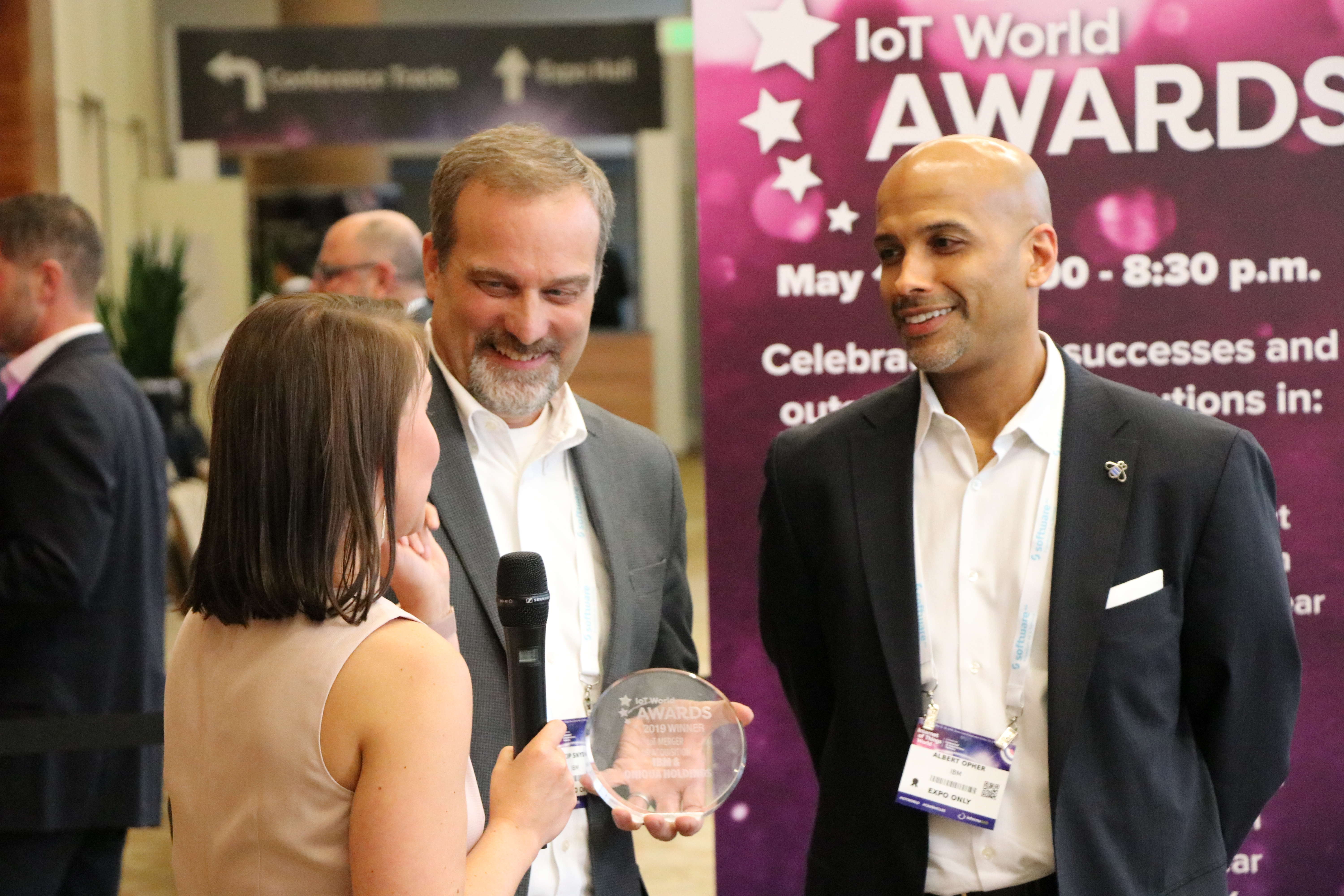 - IMG 7648 - And the winner is…..Watson IoT at the IoT World Awards 2019!