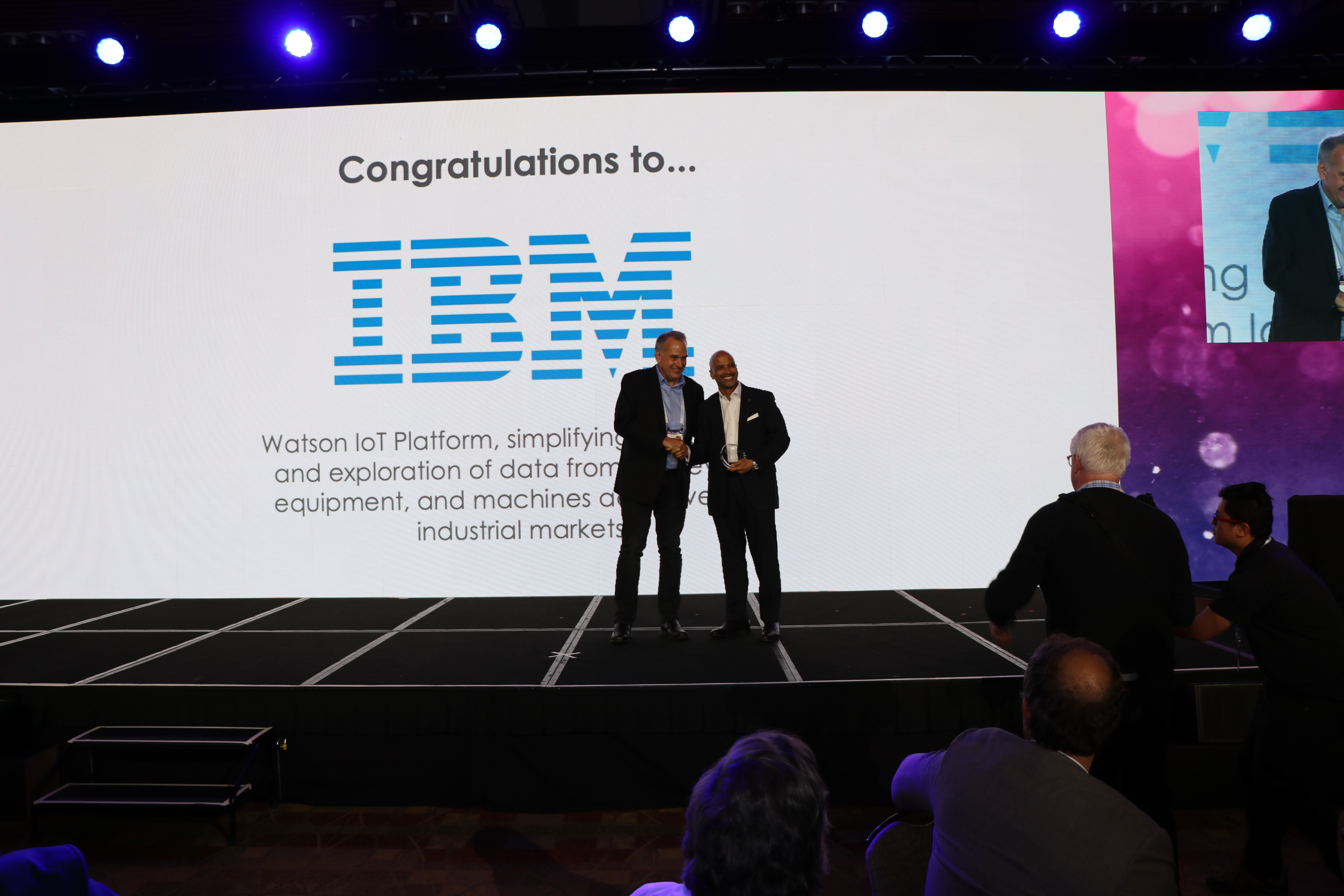 - IMG 7680 - And the winner is…..Watson IoT at the IoT World Awards 2019!