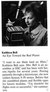 Kathleen Bell at work at ESC  - Kathleen Bell 165x300 - Poets may dream of the heavens. But it's engineers who take us there.