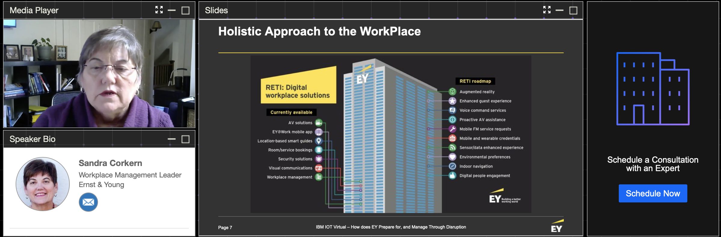 The pragmatic return to the workplace: how EY expects the unexpected