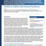 Read the IDC industry spotlight, sponsored by IBM. Learn how resilience defines operational excellence.
