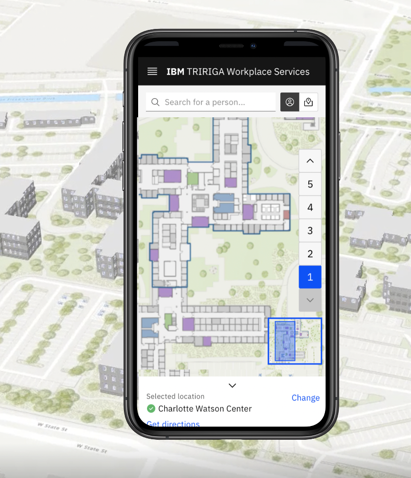 IBM TRIRIGA and Esri ArcGIS Indoors have partnered so you can addinteractive indoor mapping and make building navigation easier for everyone