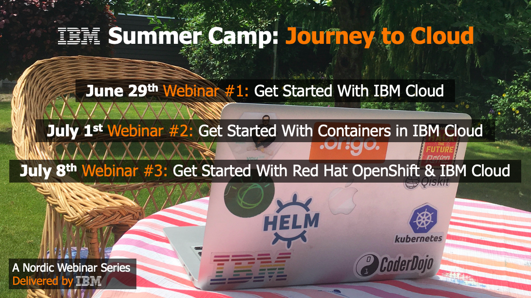 summer camp journey to cloud