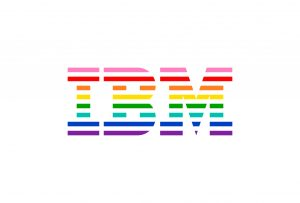 IBM rainbow 8-bar logo