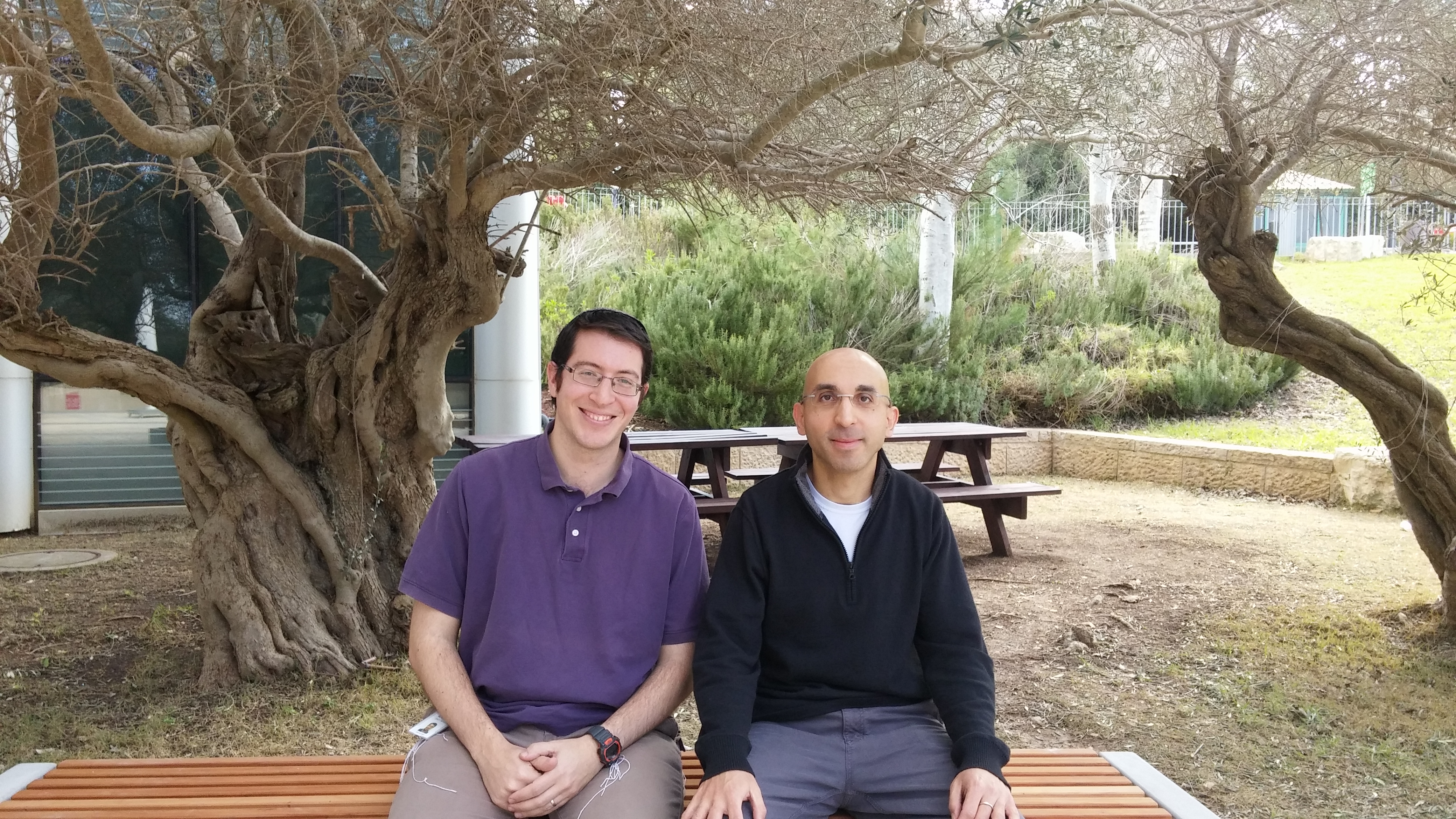 Haifa researchers Dror Porat and Daniel Rotman