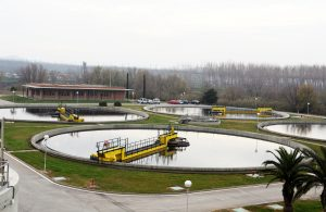 Wastewater treatment plan in Lleida Spain