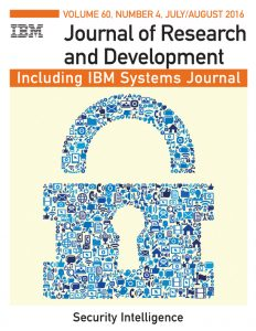 Journal of R&D: Security Intelligence