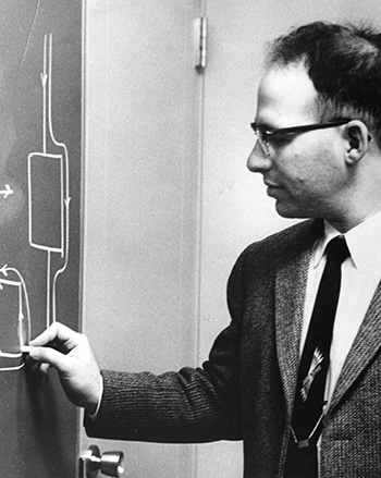 Dr. Richard (Dick) L. Garwin, IBM Research, circa 1954