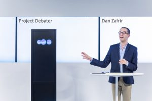 Project Debater with human professional AI