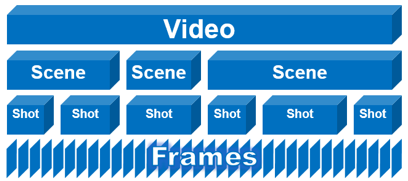 Videos have an inherent hierarchical structure, where the scenes are the semantic chapters which denote a high-level concept or story.