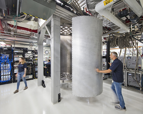 Members of the IBM Quantum team at work investigating how to control increasingly large systems of qubits for long enough, and with few enough errors, to run the complex calculations required by future quantum applications. Credit: Connie Zhou for IBM