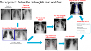 Figure 1. Illustration of the variety of findings radiologists look for in preparing a report.