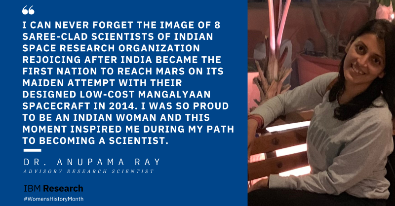 """""""My father is an engineer and initially spotted my curiosity and creativity. He introduced me to scientific explorations very early on. I credit him for helping me live my dream of being a #scientist and appreciate him for keeping me encouraged along my journey."""""""