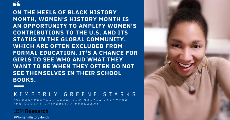 """""""On the heels of Black History Month, Women's History Month is an opportunity to amplify women's contributions to the U.S. and its status in the global community, which are often excluded from formal education. It's a chance for girls to see who and what they want to be when they often do not see themselves in their school books."""""""