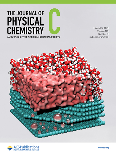 """""""The role of long-range electrostatic interactions and local topology of the hydrogen bond network in the wettability of wetted and partially wetted single and multilayer graphene,"""" cover story in The Journal of Physical Chemistry C."""