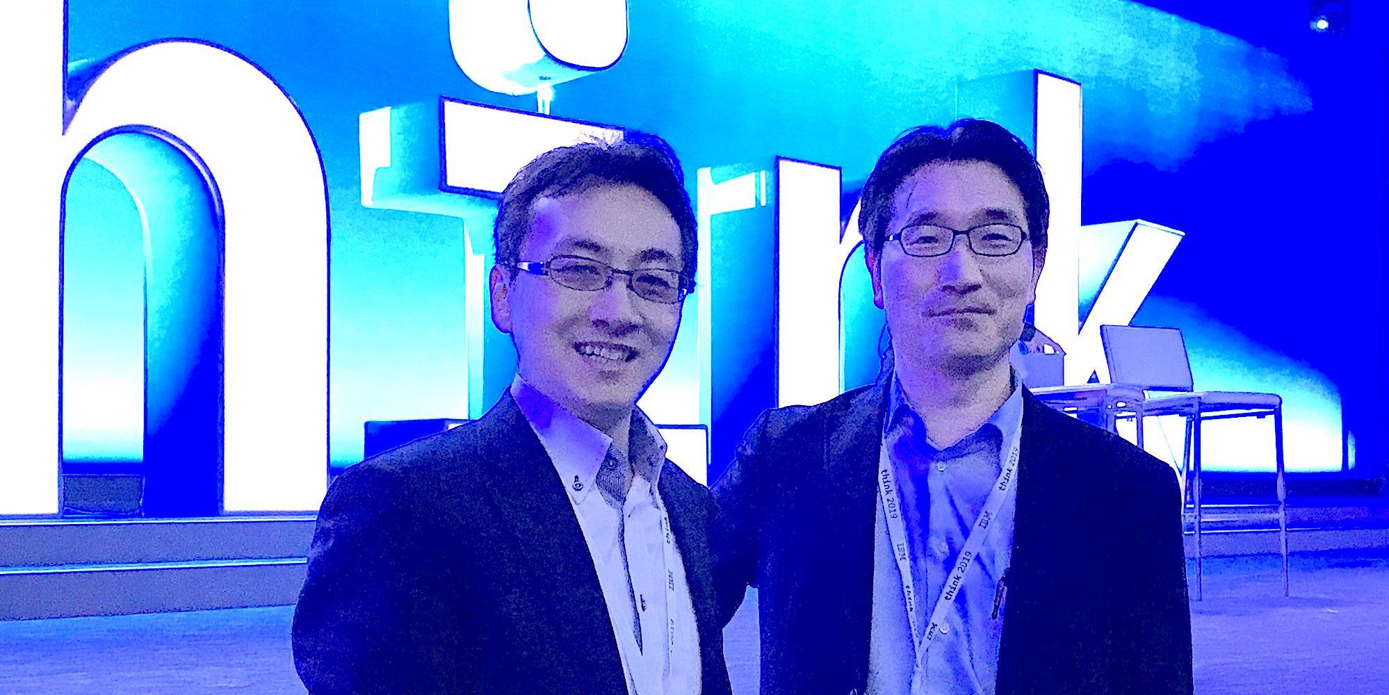 松下さんと藤巻さんの写真
