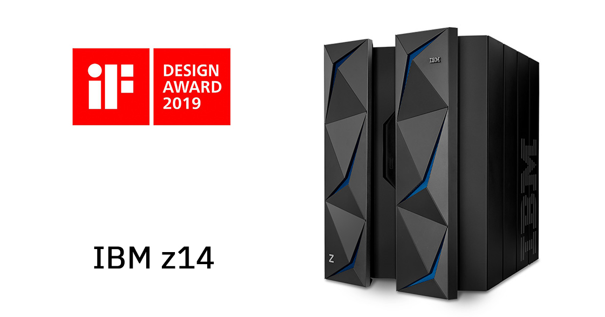 iF Design Award 2019を受賞したIBM z14 の画像