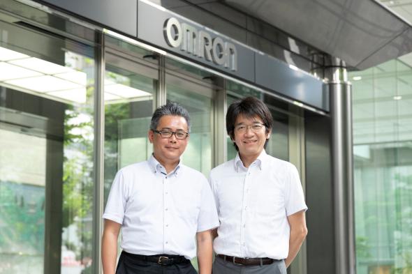 オムロン 好本氏と中村氏