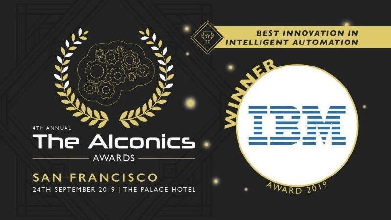 Best Innovation in Intelligent Automation Award 受賞