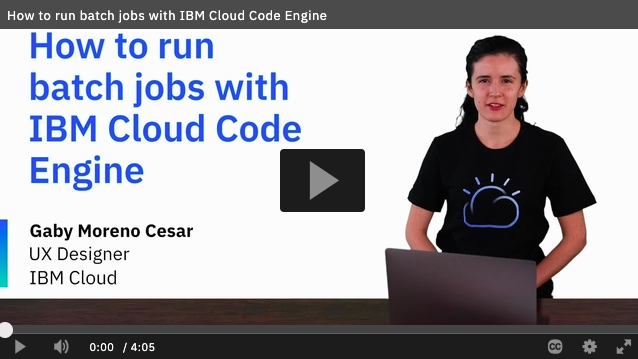 Code Engine How to
