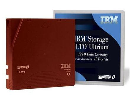 IBM LTO Ultrium 8 データ・カートリッジの画像