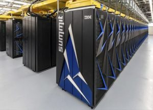米国オークリッジ国立研究所に設置されたSummit