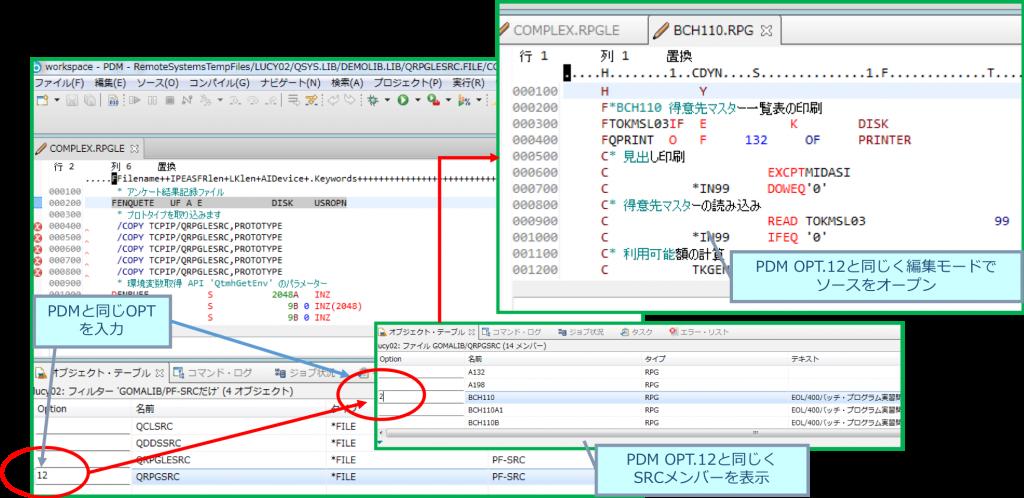 RDi 機能例1:PDMパースペクティブ