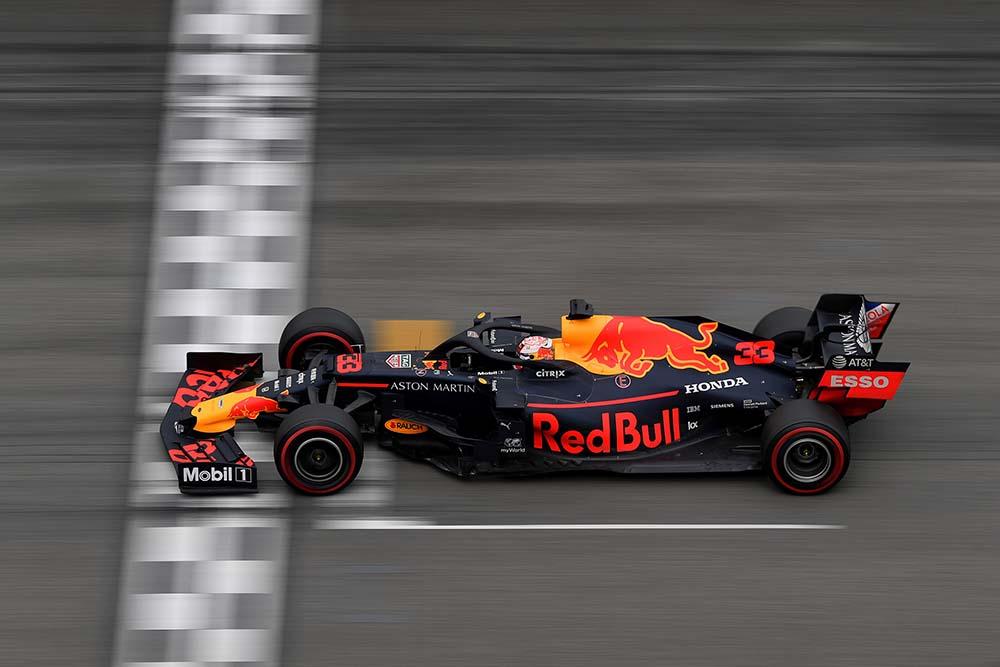 F1ドイツグランプリで優勝したレッドブル・レーシングの画像