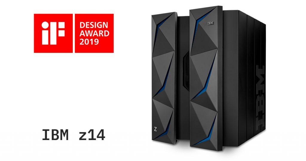 iF Design Award 2019を受賞したIBM z14