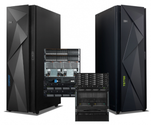 IBM DS8900F と、IBM TS7700
