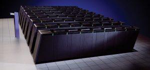 米国ローレンスリバモア国立研究所に設置されたBlue Gene/L