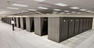 米国ローレンスリバモア国立研究所に設置されたSequoia