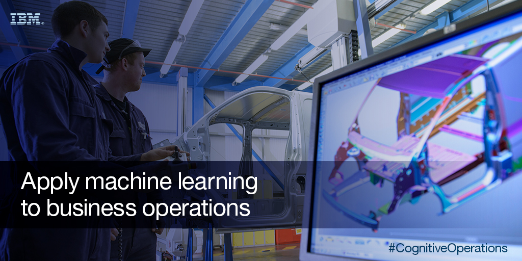 apply machine learning to business operations, Cognitive Journey