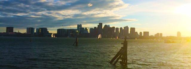 boston harbor view, IBMTechU