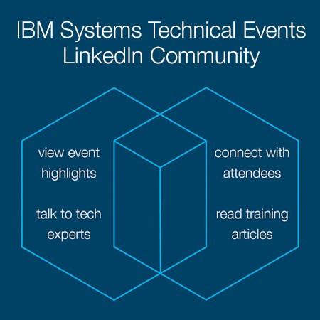 ibm systems technical events linkedin community, IBMTechU