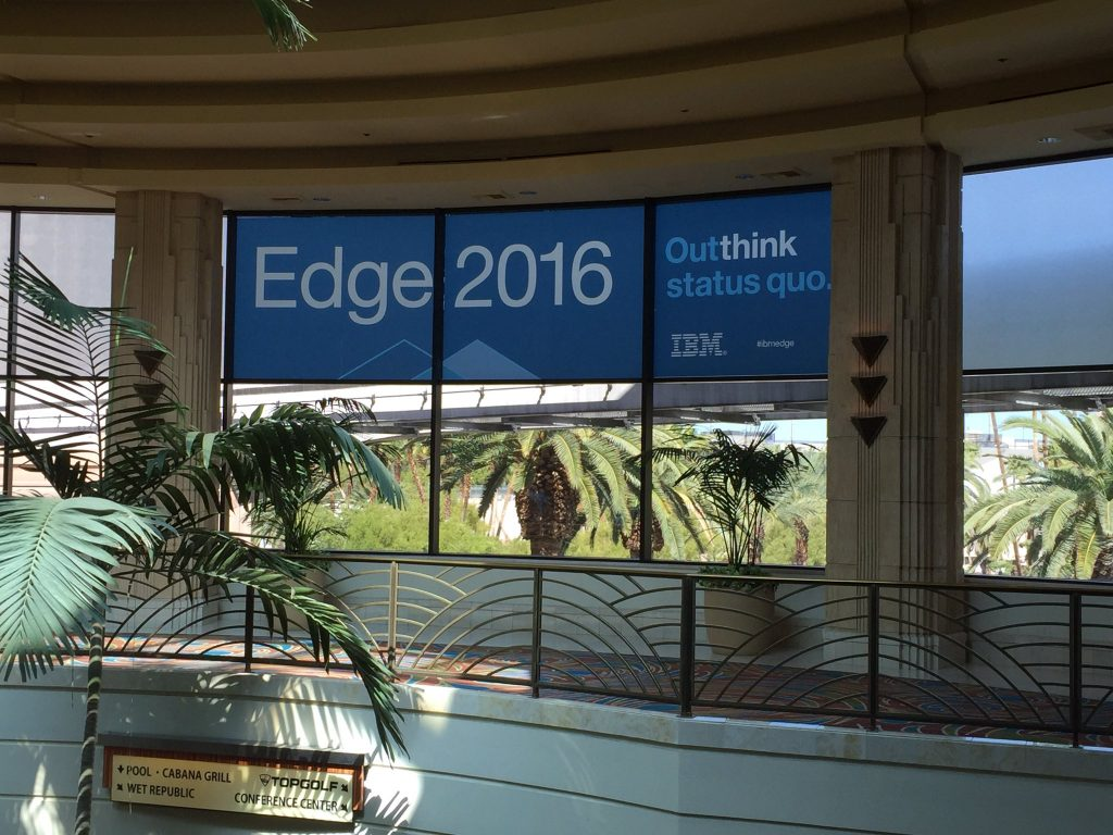 IBM Edge 2016 underway