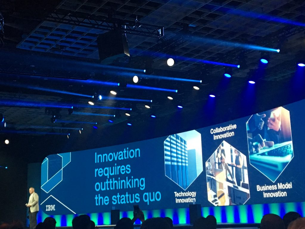 general session at IBM Edge 2016