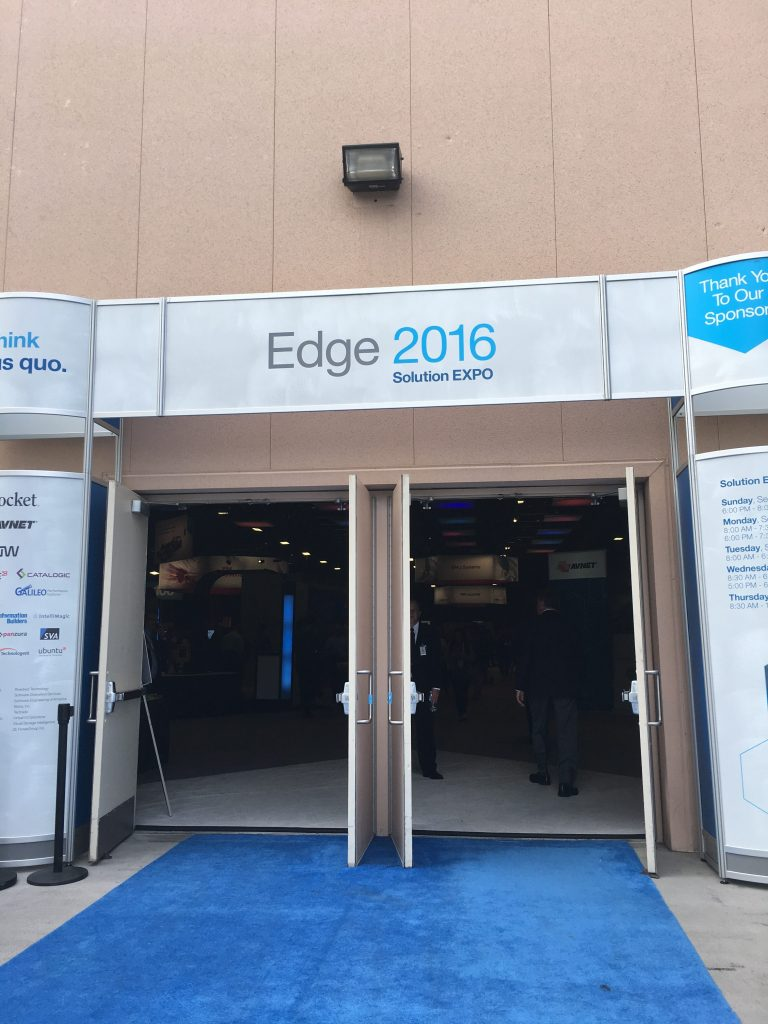 the Expo hall, IBM Edge 2016