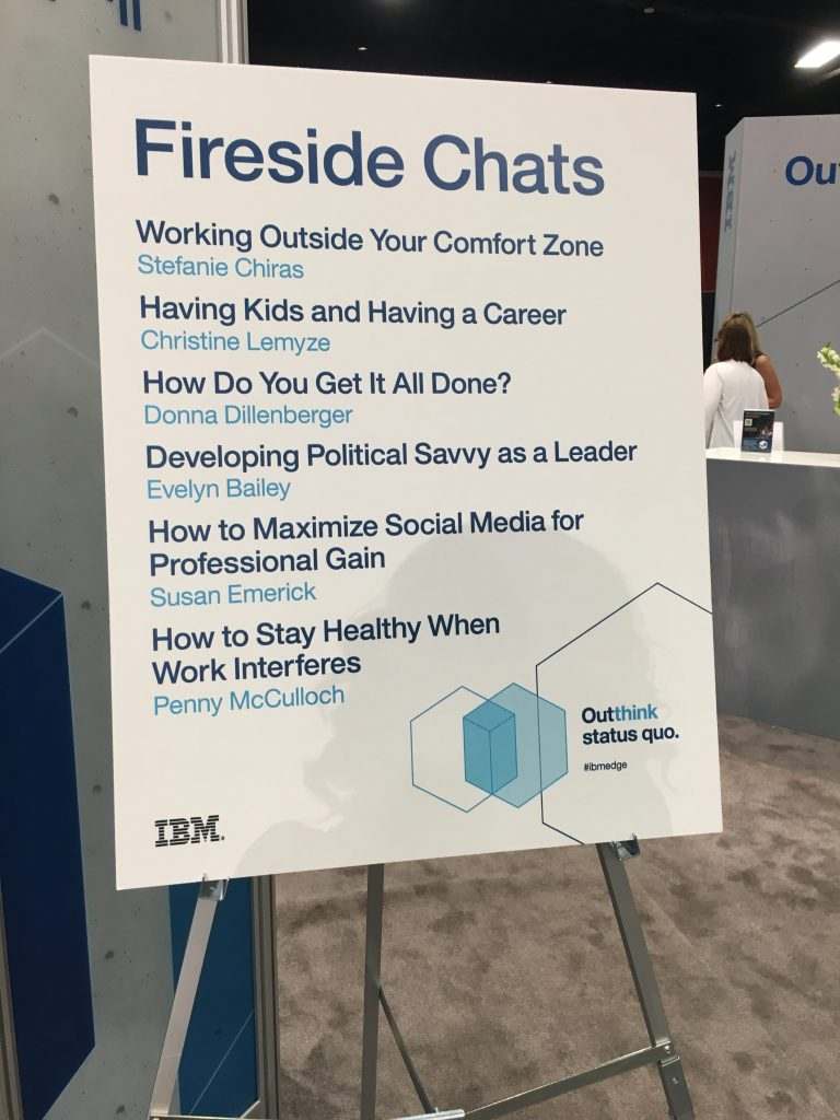fireside chats, IBM Edge 2016