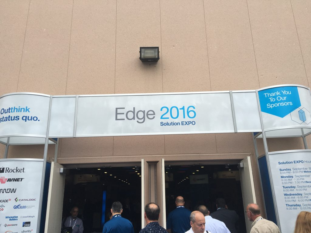 Day two at Edge 2016
