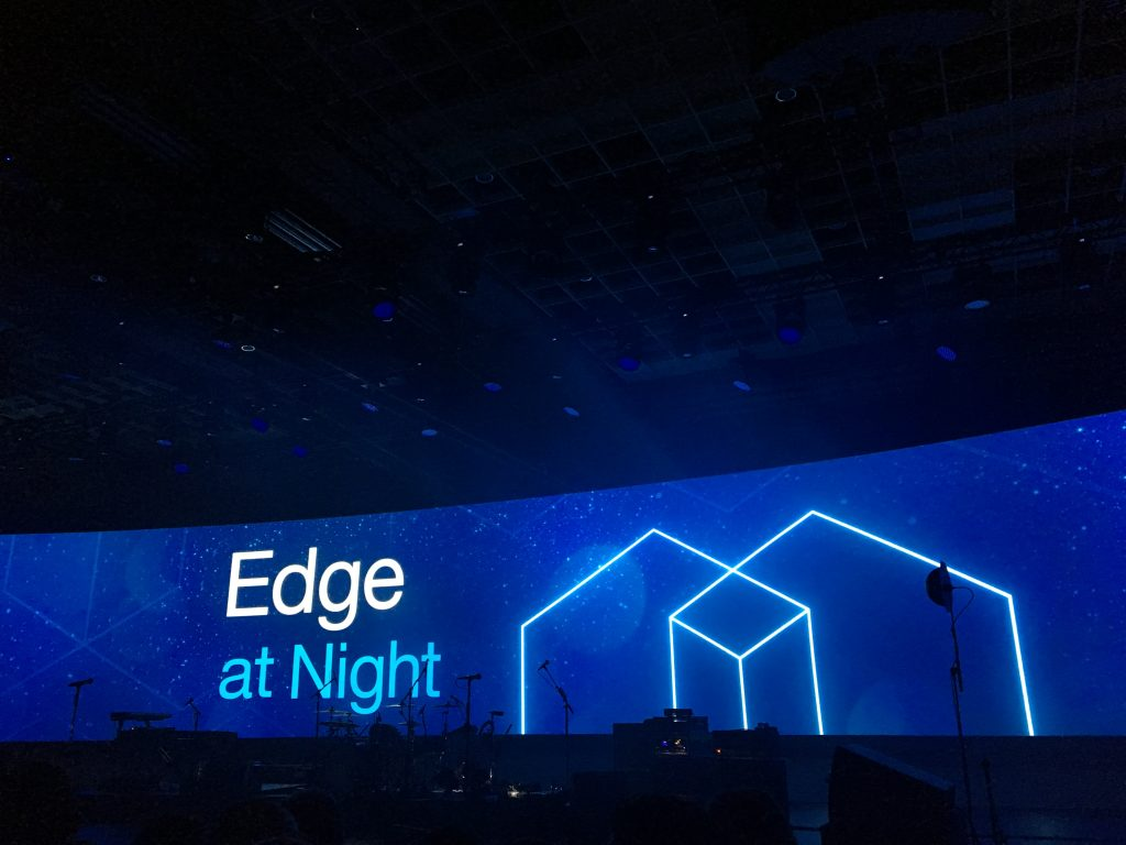 Edge at night